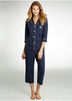 Lauren Ralph Lauren Further Lane Capri Pajama Set