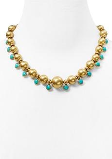 """Lauren Ralph Lauren Graduated Bead Strand Necklace, 18"""""""
