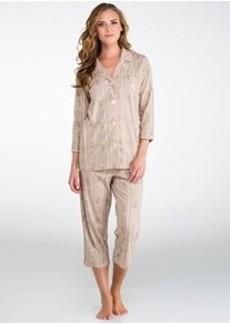 Lauren Ralph Lauren High Grove Bingham Knits Pajama Set
