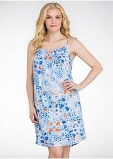 Lauren Ralph Lauren Patmos Cotton Short Gown Plus Size