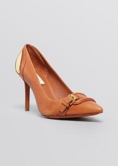 Lauren Ralph Lauren Pointed Toe Pumps - Kristen High Heel