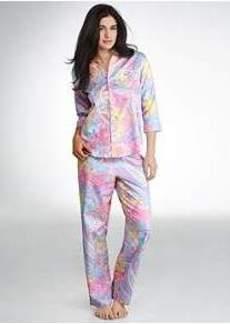 Lauren Ralph Lauren Southampton Sateen Woven Pajama Set
