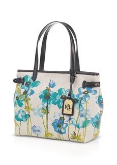 Lauren Ralph Lauren Tote - Bolton Floral Shopper