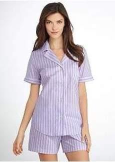 Lauren Ralph Lauren Victorian Woven Pajama Set