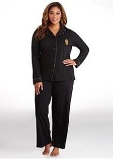 Lauren Ralph Lauren Young Royals Knit Pajama Set Plus Size