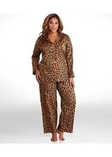 Lauren Ralph Lauren Young Royals Sateen Pajama Set Plus Size