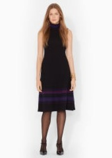 Merino Funnelneck Dress