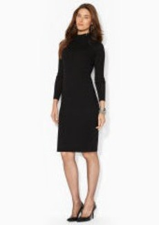 Merino Wool Moto Dress