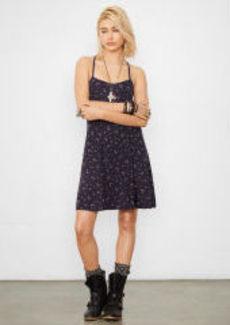 Open-Back Slip Dress