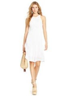 Pointelle-Knit Dress