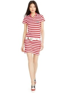 Polo Ralph Lauren America's Cup Striped Polo Dress