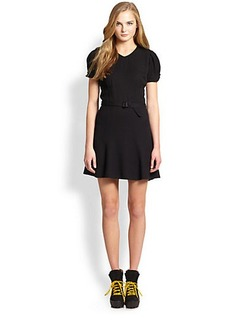 Polo Ralph Lauren Belted Knit Dress