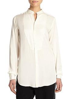 Polo Ralph Lauren Bib-Front Blouse