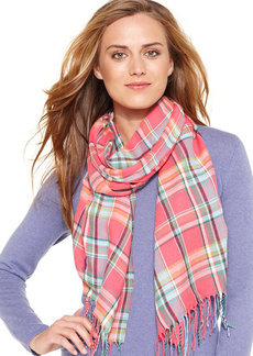 Polo Ralph Lauren Bright Plaid Scarf