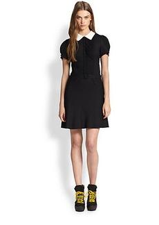 Polo Ralph Lauren Contrast-Collar Dress