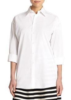 Polo Ralph Lauren Cotton Button-Front Shirt