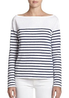 Polo Ralph Lauren Cotton Jersey Striped Top