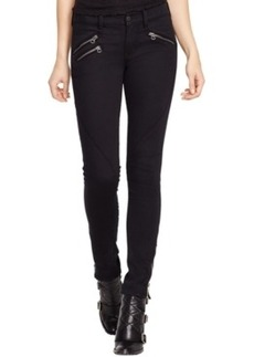 Polo Ralph Lauren Cropped Moto Jeans