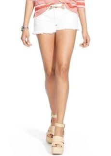 Polo Ralph Lauren Cut-Off Shorts, Corrine White Wash