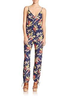 Polo Ralph Lauren Floral-Print Jumpsuit