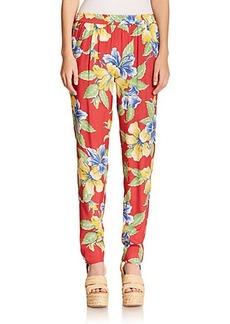 Polo Ralph Lauren Floral-Print Pants