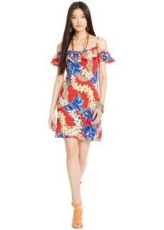 Polo Ralph Lauren Hawaiian-Print Ruffled Dress