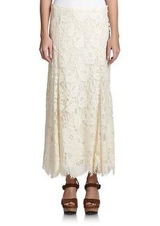 Polo Ralph Lauren Lace Maxi Skirt