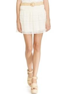 Polo Ralph Lauren Lace Mini Skirt
