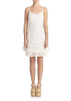 Polo Ralph Lauren Lace-Panel Dress