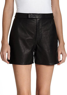 Polo Ralph Lauren Leather Shorts