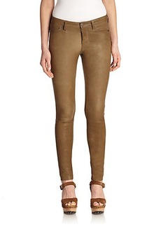 Polo Ralph Lauren Leather Skinny Pants