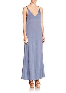 Polo Ralph Lauren Linen Jersey Maxi Dress