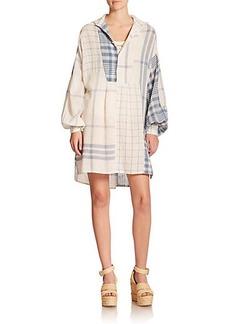 Polo Ralph Lauren Linen Patchwork Tunic