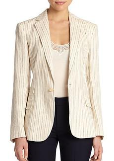 Polo Ralph Lauren Linen Striped Jacket