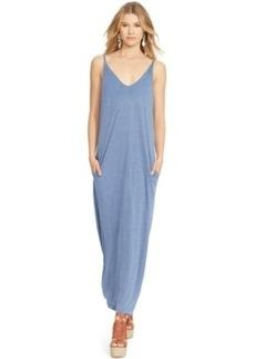 Polo Ralph Lauren Linen V-Neck Maxi Dress