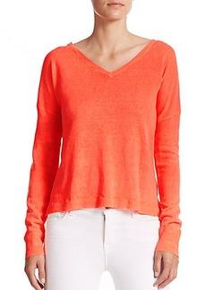 Polo Ralph Lauren Linen V-Neck Sweater