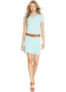 Polo Ralph Lauren Mesh Polo Mini Dress