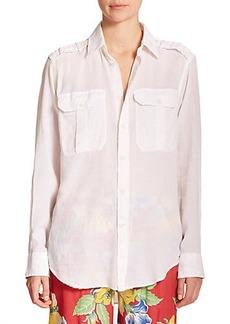 Polo Ralph Lauren Military Cotton Shirt