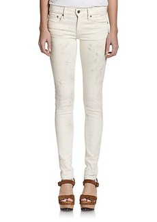 Polo Ralph Lauren Paint-Splattered Skinny Jeans