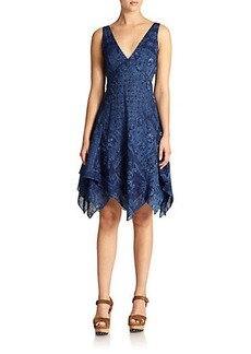 Polo Ralph Lauren Patchwork Layered Dress