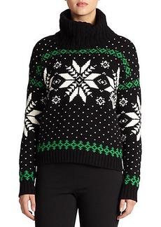 Polo Ralph Lauren Patterned Turtleneck Sweater