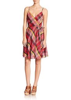 Polo Ralph Lauren Plaid Wrap Dress