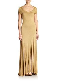 Polo Ralph Lauren Pleated Maxi Dress