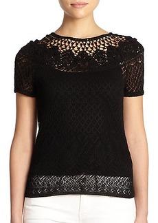 Polo Ralph Lauren Pointelle-Knit Sweater