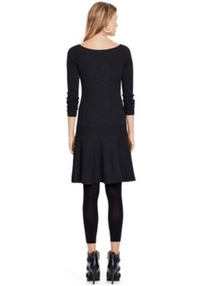 Polo Ralph Lauren Ribbed Fit & Flare Sweater Dress