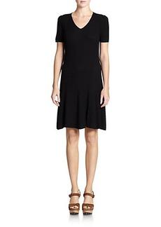 Polo Ralph Lauren Ribbed V-Neck Dress