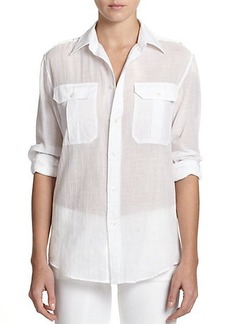Polo Ralph Lauren Sheer Military Shirt