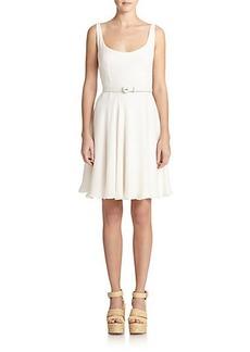 Polo Ralph Lauren Silk Belted Dress