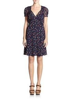 Polo Ralph Lauren Silk Floral Dress