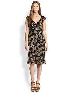 Polo Ralph Lauren Silk Floral Dress